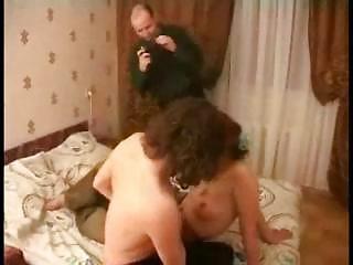 Redhead Milf Threesome Fucked By 2 Guys