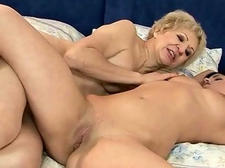 Grandma loves young girl