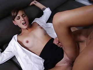 Hot Dakota Vixin gets banged by hard meaty dick