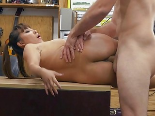 Sexy asian sells her samurai and railed