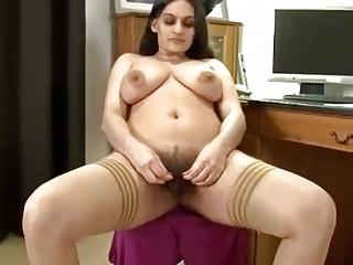 beautiful hairy pakistani fingers her hairy pussy,big tits