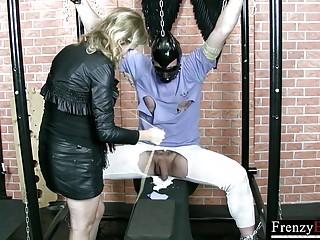 FrenzyBDSM Mild Hard Cock Torture Session