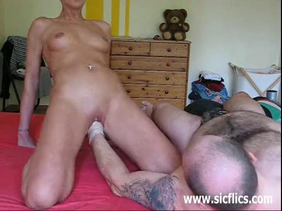 Ditsy blonde fucks black cock