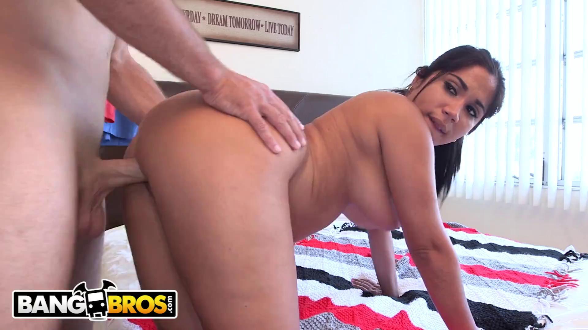 Big Booty Latina Sucking Dick